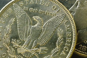 Morgan silver dollar value close