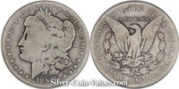 Photo of Morgan Silver Dollar in good (G4) condition/grade.