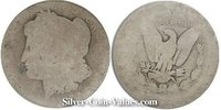 Photo of Morgan Silver Dollar in poor (P1) condition/grade.